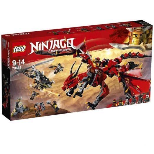 LEGO Ninjago Rdeči zmaj komplet LEGO kock