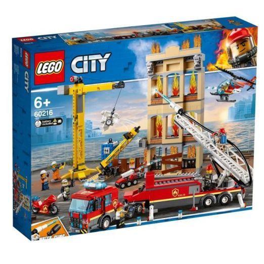 LEGO City FIREFIGHTERS set lego kock