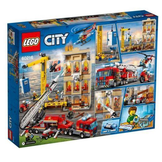 LEGO City FIREFIGHTERS set lego kock cena