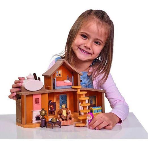 Maša in medved hišica z dodatki in figuricami cena