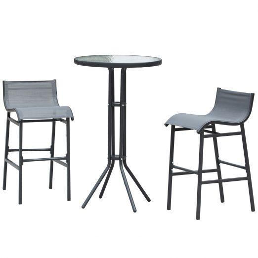Vrtni set mize in stolov za teraso ali balkon
