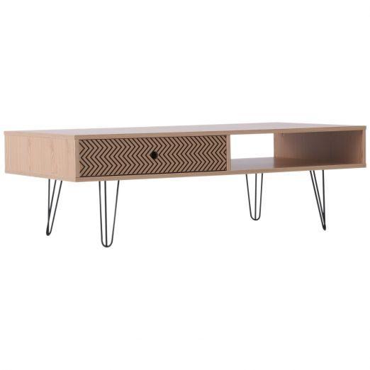 Klubska mizica s predalom modernega dizajna