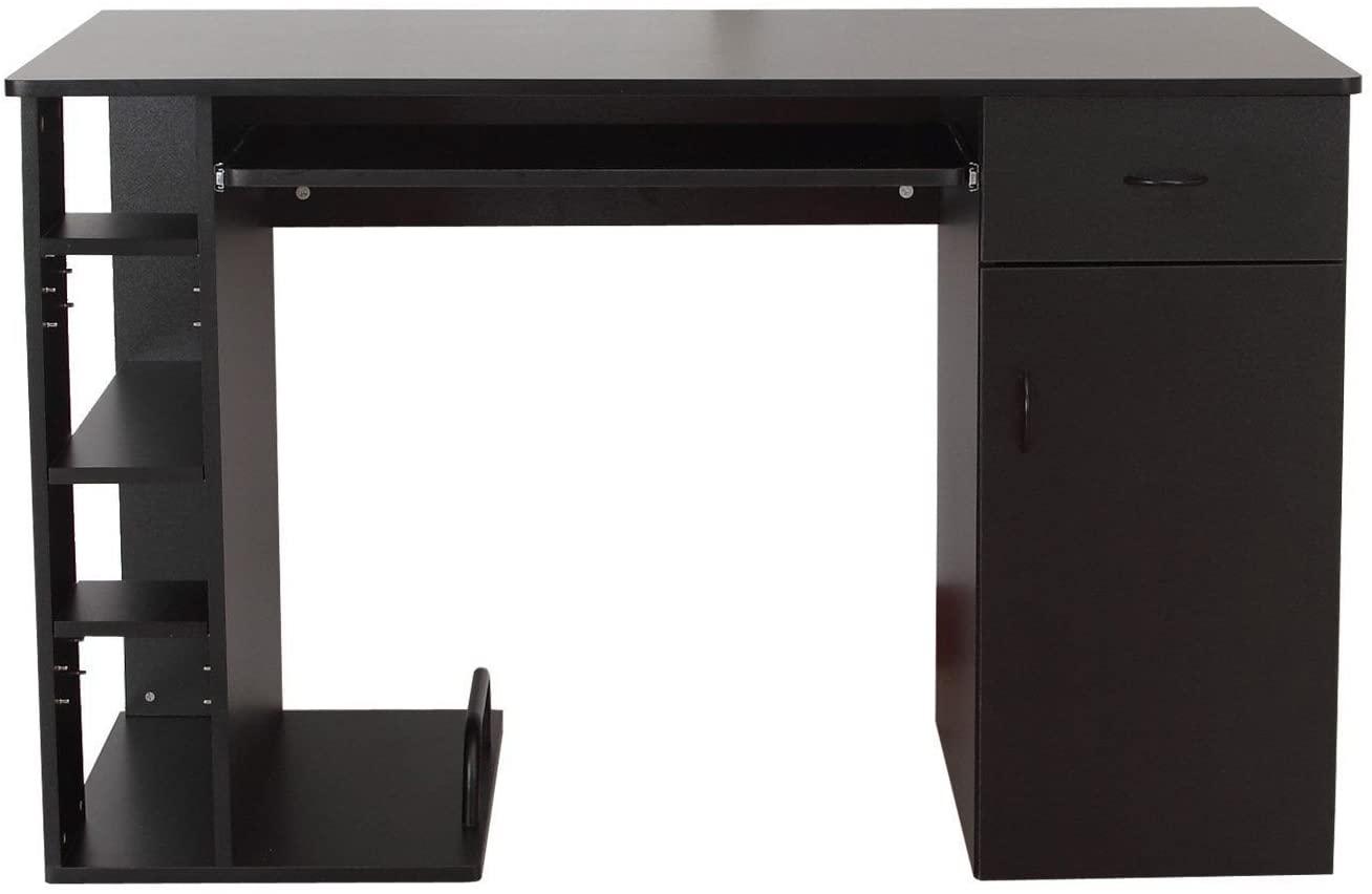Klasična pisalna miza v črni barvi cena
