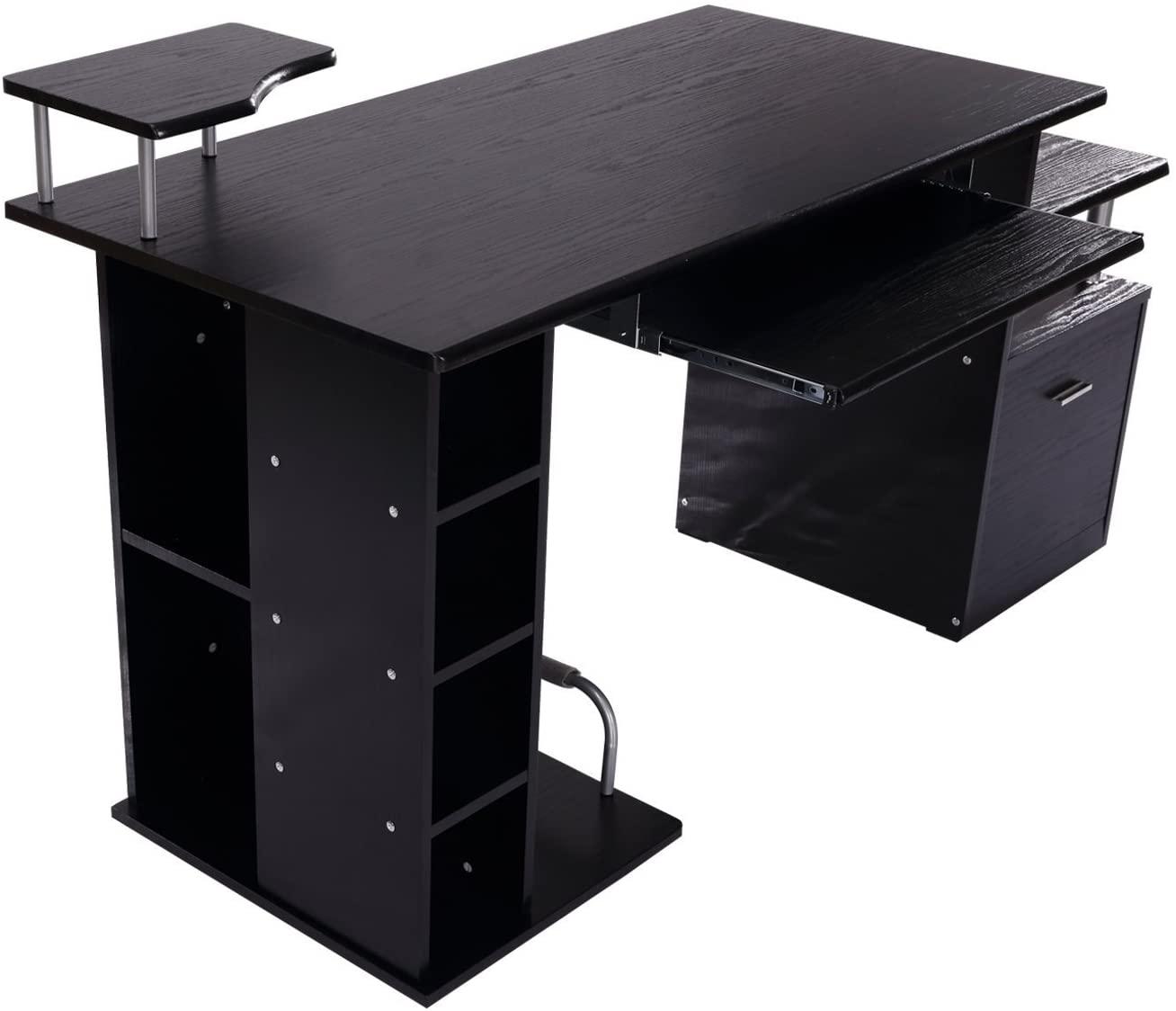 Črna pisalna miza modernega dizajna nizka cena