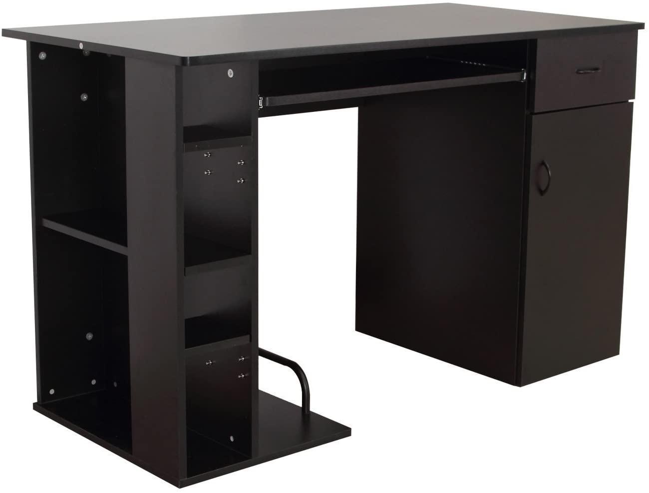 Klasična pisalna miza v črni barvi
