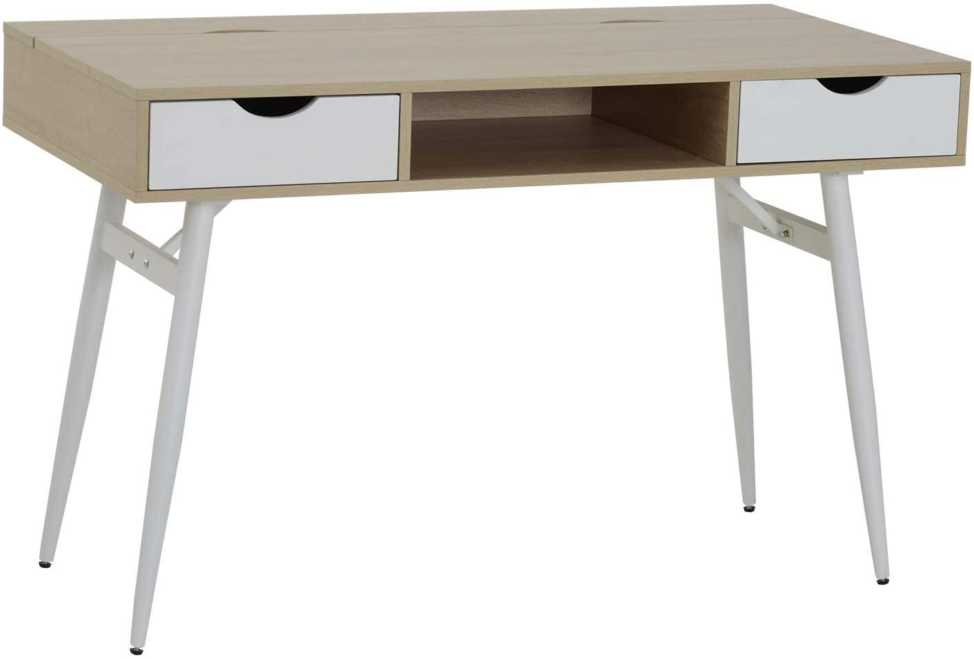 Lesena pisalna miza modernega dizajna
