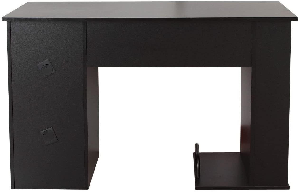 Klasična pisalna miza v črni barvi nizka cena