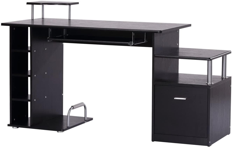 Črna pisalna miza poceni
