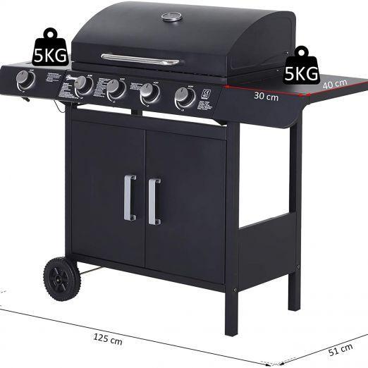 BBQ žar za peko na plin cena