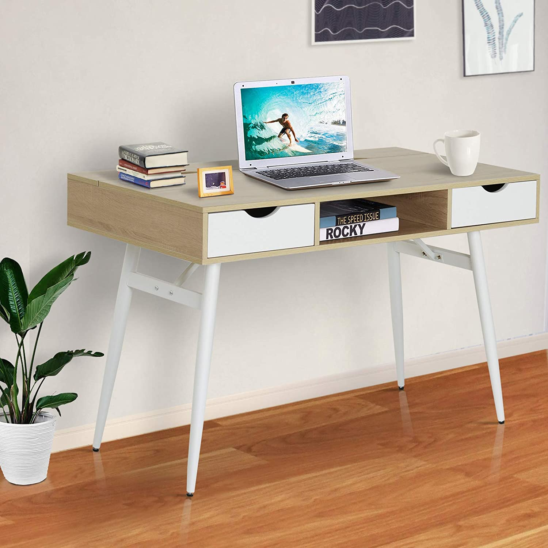 Lesena pisalna miza modernega dizajna cena